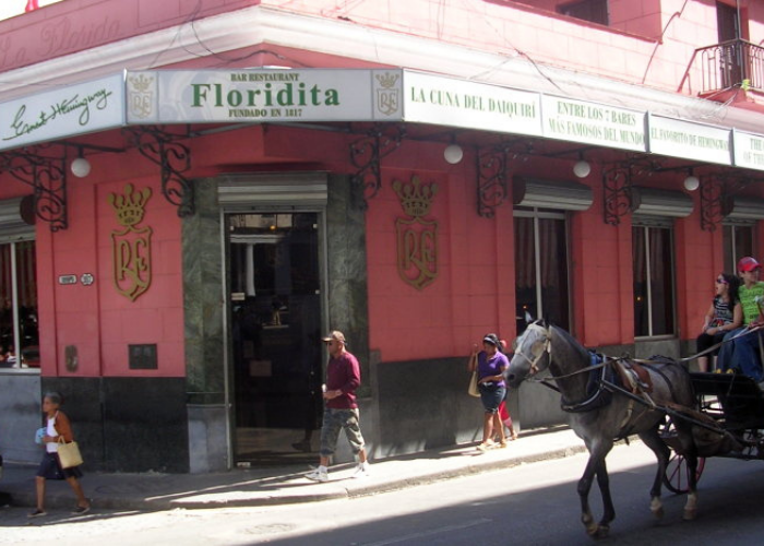 La Floridita Bar and Restaurant, Old Havana today