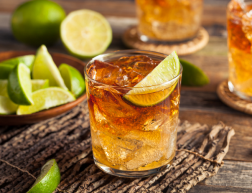 Make a Dark 'n' Stormy Cocktail