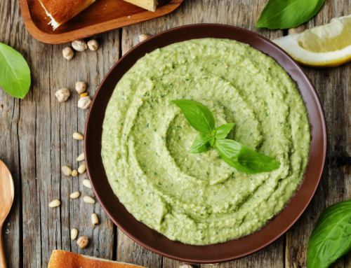Make Cuban Spicy Green Houmous at Home!